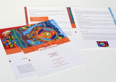 Folder-flyer Mediation Groep Twente