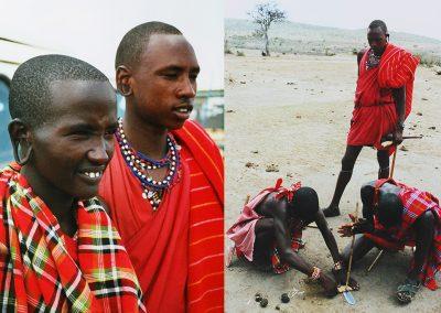 Masai-boys